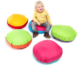 Outdoor Round Cushions Set of 5 PP26