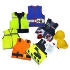 Construction Tabards and Hard Hats PP48