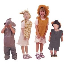 Dressing Up Tabards & Hats Jungle PP50